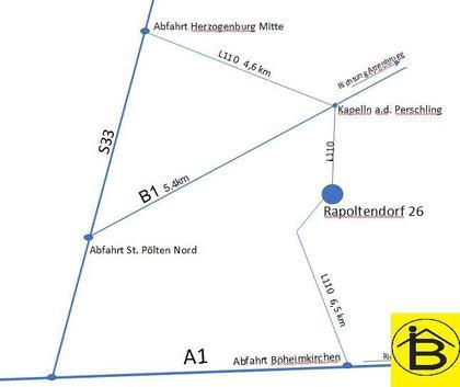 Büros /Praxen in 3141 Rapoltendorf