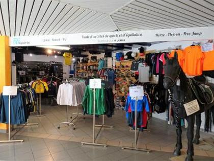 Einzelhandel / Geschäfte in 1950 La Sionne