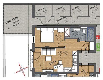 MAURACH a. Achensee - Neubau/Erstbezug! Schöne 2 Zimmerwohnung mit Terrasse und Seeblick