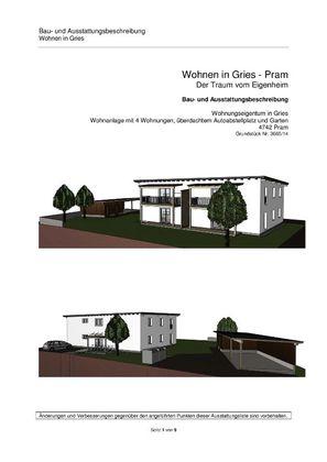 Projekt Eigentumswohnung Pram/ Gries
