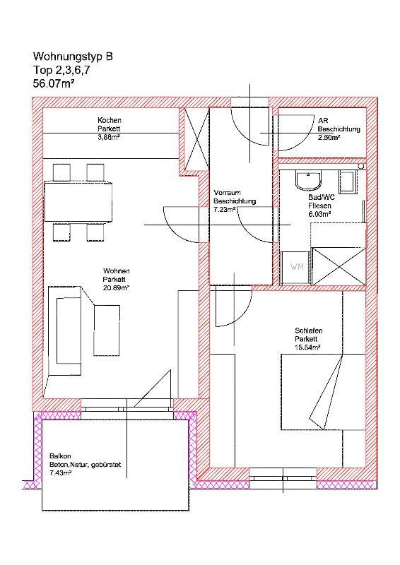 Eigentumswohnung mit Eigengarten Neubau