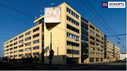 Dieses moderne Bürogebäude wartet auf Ihre individuelle Gestaltung für vielseitige Nutzung. Direkt an einem pulsierenden Verkehrsknotenpunkt von Wien!