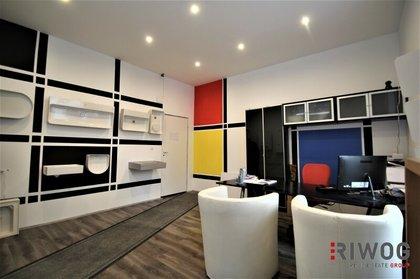 Modernes Geschäftslokal mit Wohnung und 150m² Lagerfläche - Umwidmung der Wohnung in Geschäftslokal möglich !!!