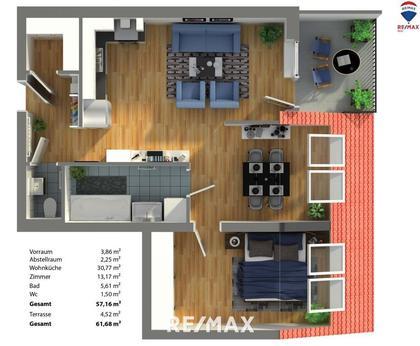 Wohnungen in 2130 Mistelbach